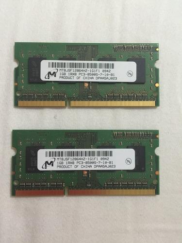 memoria ram 2 gb original macbook mid 2009