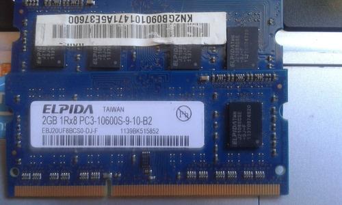 memoria ram 2gb 1rx8 10600s-9-10-b2