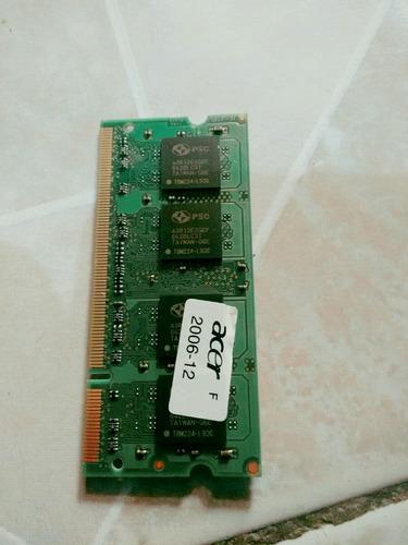 memoria ram 2gb pc2-5300 para laptop envio gratis