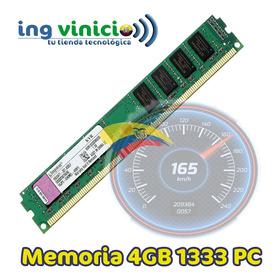 Memoria Ram 4gb 1333 Ddr3 Pc3-10600 Kingston Kvr1333d3n9/4