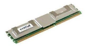 memoria ram 4gb crucial ct51272af667 240-pin ddr2 667mhz ecc full-buffer server module