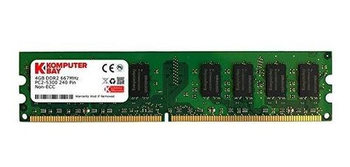 memoria ram 4gb komputerbay ddr2 667mhz pc2-5300 pc2-5400 ddr2 667 (240 pin) dimm