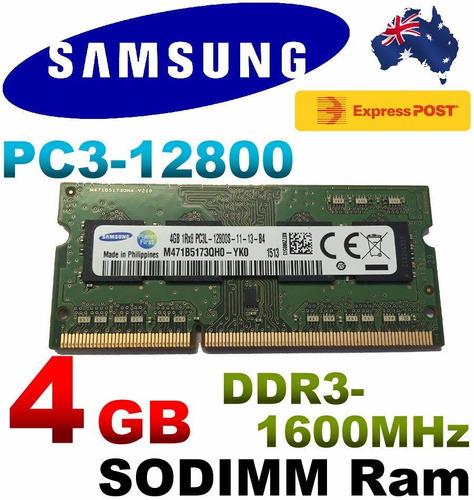 memoria ram 4gb laptop