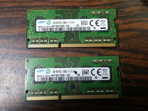 memoria ram 4gb para laptops