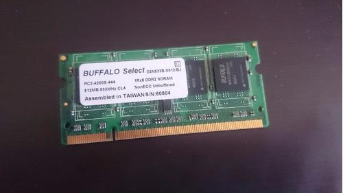 memoria ram 512 mb 533 mhz cl4 pc2 ddr2 sdram d2n533b