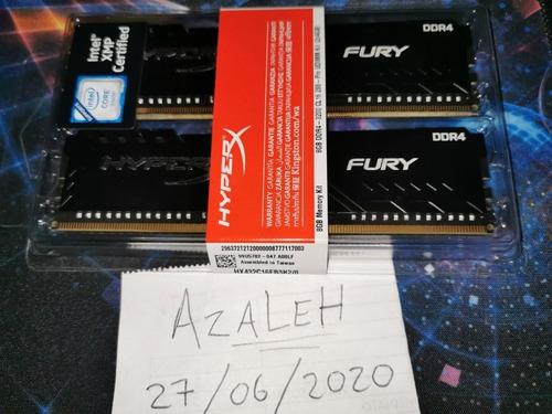 memoria ram 8gb (2x4gb) 3200mhz hyperx fury
