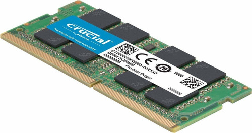 memoria ram 8gb ddr4 2400 mt/s (pc4-19200) 260 pines