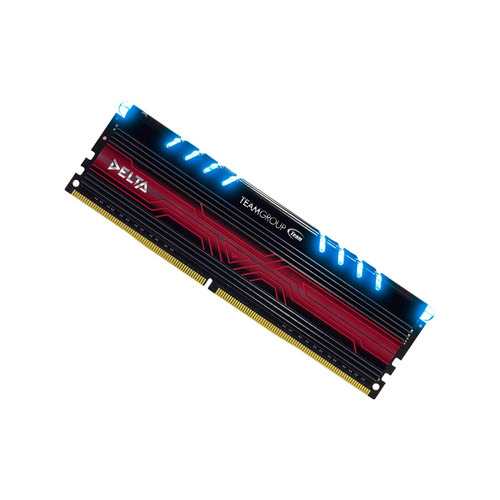memoria ram 8gb ddr4 gamer 2400 delta led azul t force team