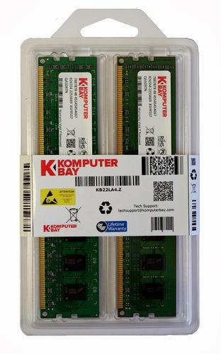 memoria ram 8gb komputerbay (4x 2gb) ddr2 800mhz pc2-6300 pc2-6400 (240 pin) dimm with samsung semiconductors