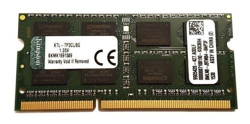 memoria ram 8gb para laptop ddr3 bus 1600 pc3l