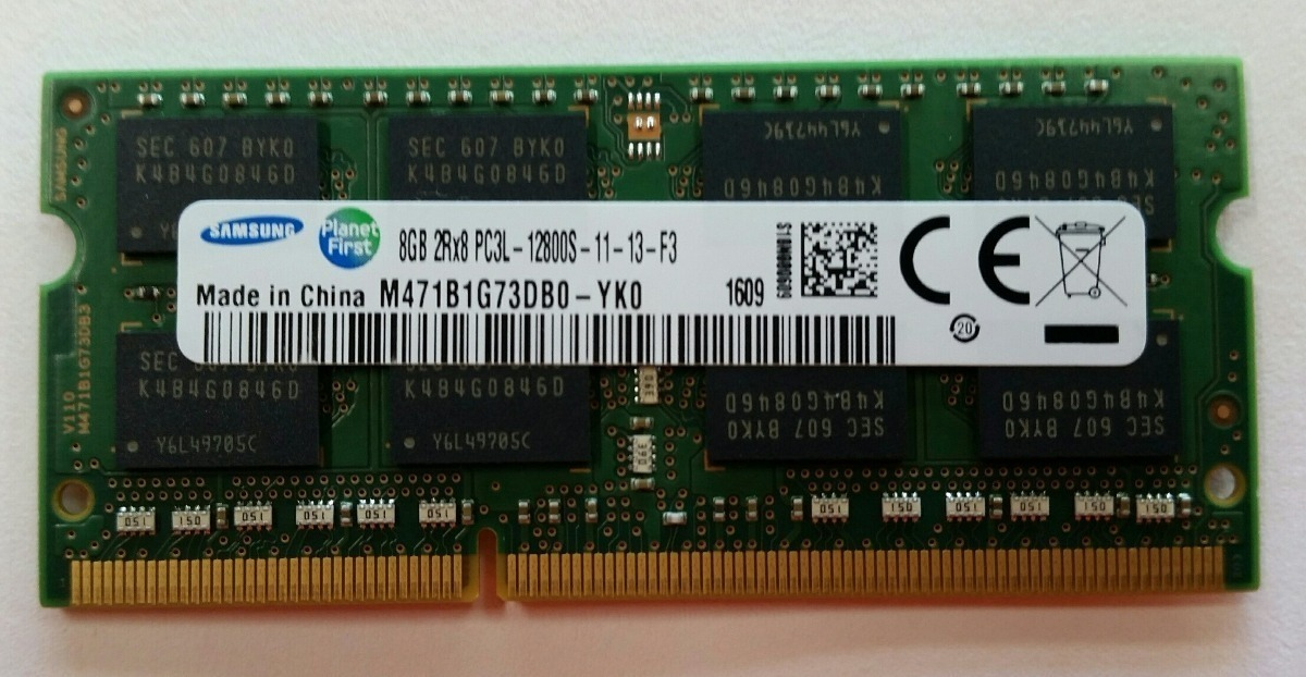 Memoria Ram 8gb Para Laptop Ddr3 Bus 1600 Pc3l S 170 00 En