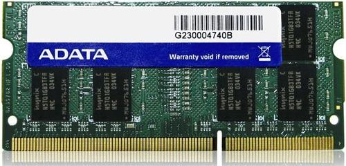 memoria ram adata 8gb ddr3l 12800 1600 mhz sodimm para lapto