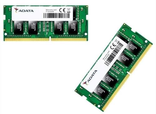 memoria ram adata portatil ddr4 4gb 2666mhz pc4-21300