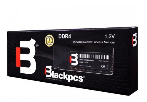 memoria ram blackpcs md22402-4gb - 4 gb