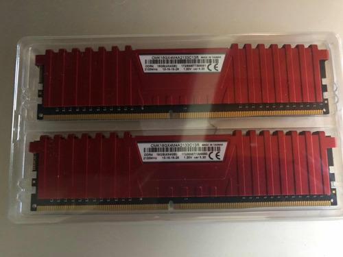 memoria ram corsair 2 x 4 gb c/u