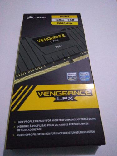 memoria ram corsair vengance lpx 8 gb ddr4 2666mhz