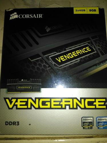 memoria ram corsair vengeance ddr3 2x4gb