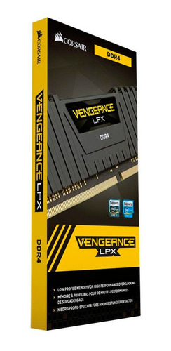 memória ram corsair vengeance lpx 4gb 2400mhz ddr4