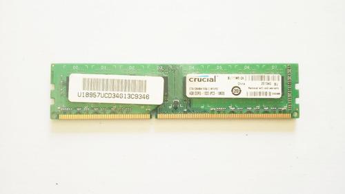 memoria ram crucial 4gb ddr3 1333