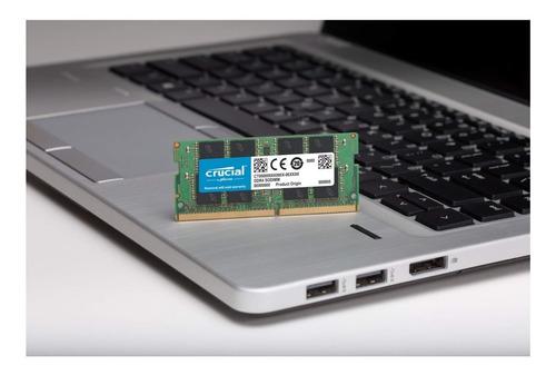 memoria ram crucial 8gb ddr4 2666 portátil laptop inmediata