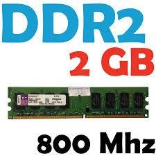 memoria ram ddr2 2gb para pc. precios de oferta!!!