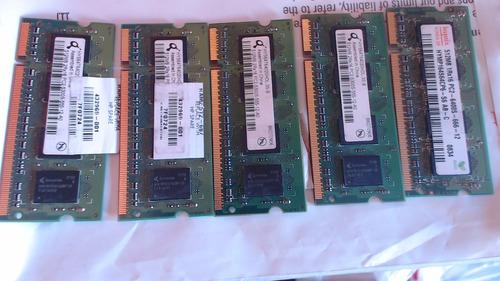memoria ram ddr2 512 para