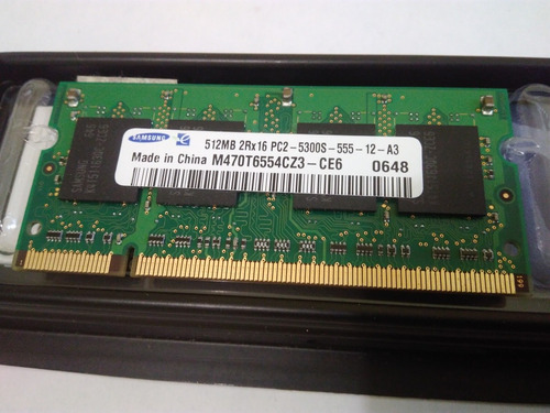 memoria ram ddr2 512mb 667mhz m470t6554cz3 ce6