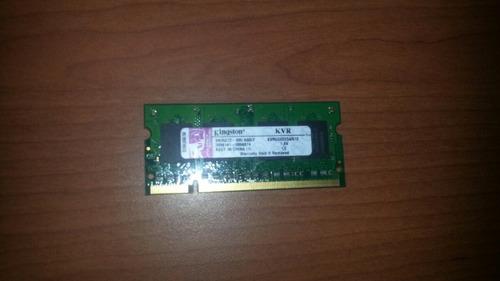 memoria ram ddr2 512mb/533mhz pc2-4200 cl4 kingston notebook