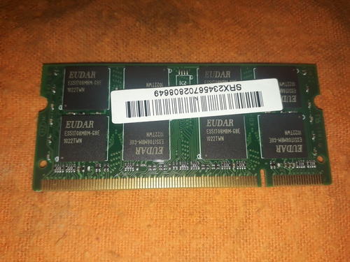 memoria ram ddr2 notebook netbook 1gb