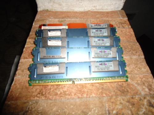 memoria ram ddr2 para servidor hp original de 1gb