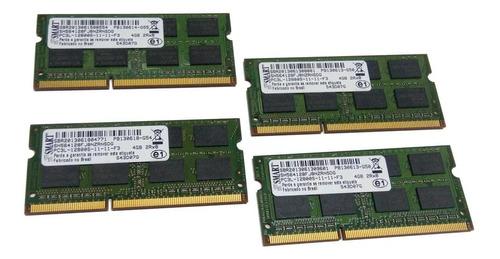 memória ram ddr3 2gb 1600mhz notebook smart pc3l