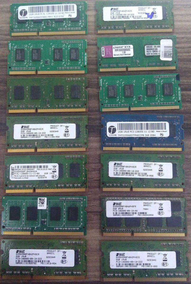 Memoria Ram Ddr3 2gb Para Notebook 6 Meses De Garantia R 39 00 Em
