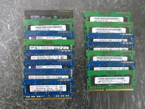 memoria ram ddr3 2gb portatil