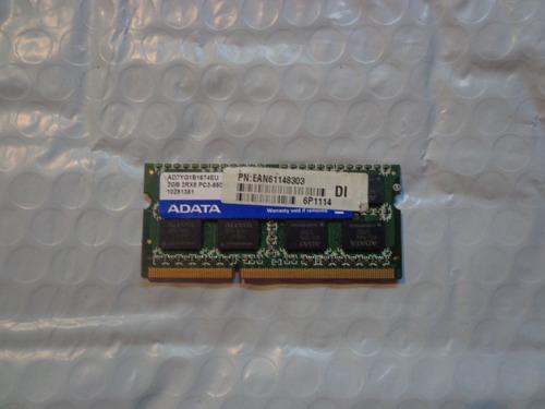 memoria ram ddr3 2gb y 4gb laptop (consultar precio)