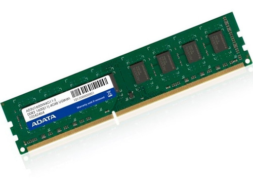 memoria ram ddr3 4gb 1600mhz adata premier pc ad3u1600w4g11-s