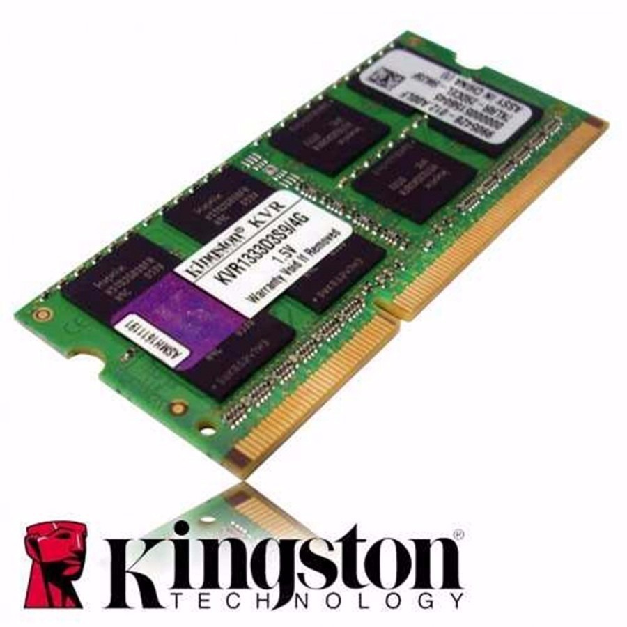 Memoria Ram Ddr3 4gb Kingston Laptop Sodimm Kvr1333d3s9