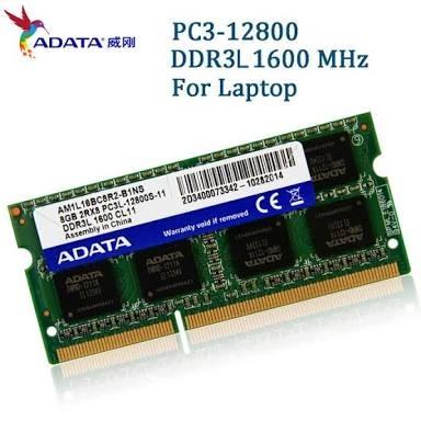 Memoria Ram Ddr3 8gb 1600 Adata Para Notebook Promocao R