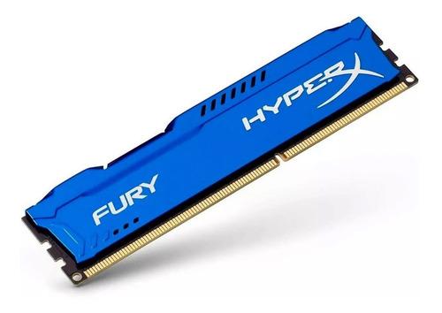memoria ram ddr3 8gb 1600mhz hyperx fury blue hx316c10f/8