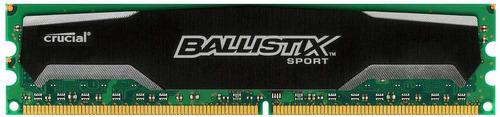 memoria ram ddr3 crucial ballistix sport 2gb 1600 240pin 1.5