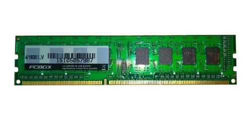 memoria ram ddr3 pcbox 4 gb 1600mhz