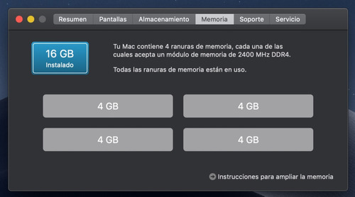 memoria ram ddr4 2400 8gb 2x4 imac notebook gamer pc4-19200