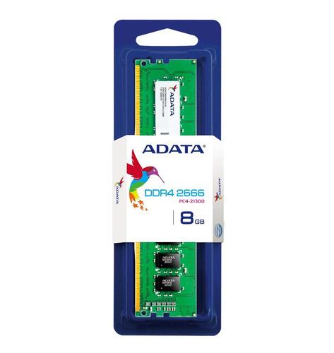 memoria ram ddr4 8gb 2666 mhz adata premier blister x5pc