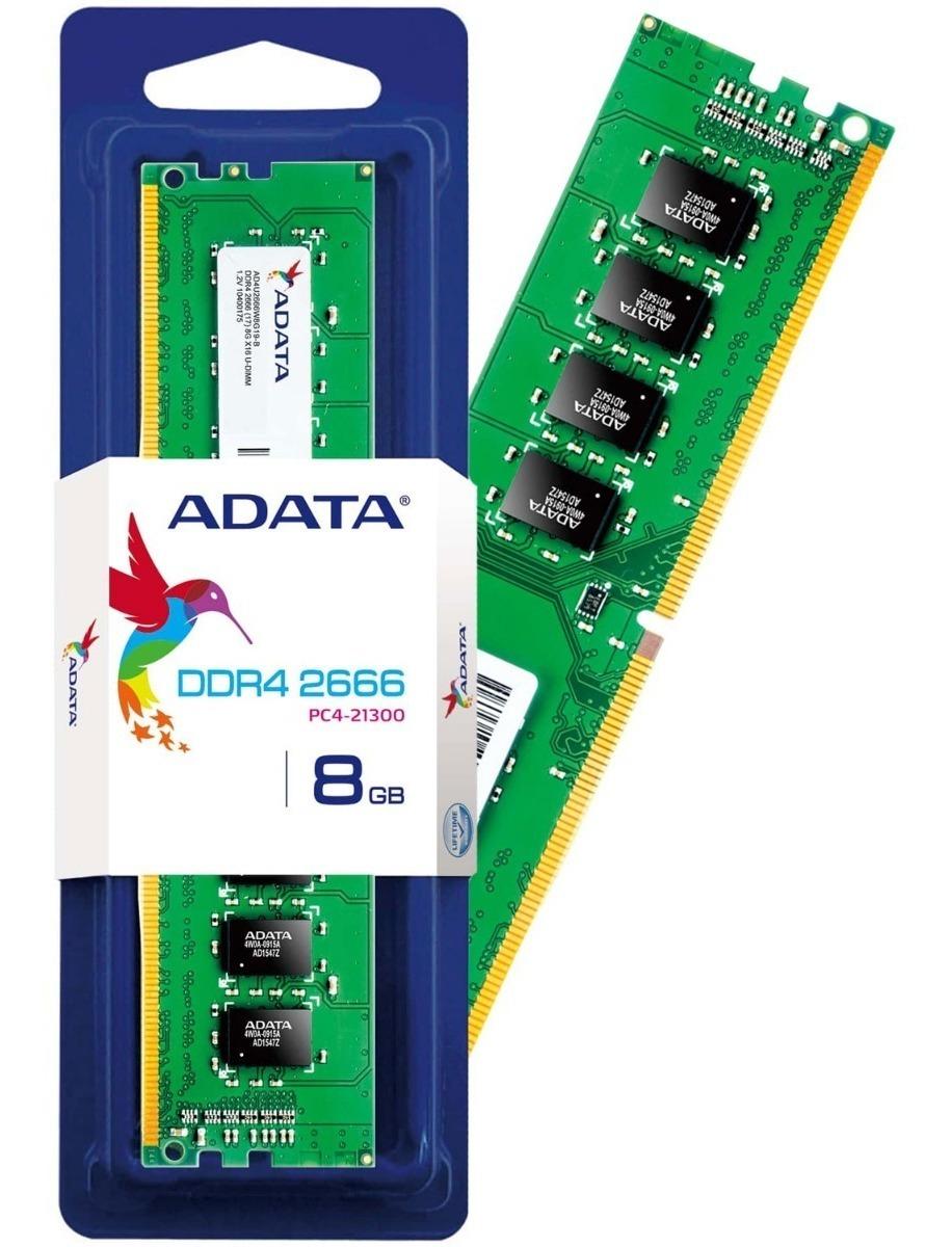 Memoria Ram Ddr4 8gb 2666mhz Adata Pc Ad4u266638g19-s - $ 179.900 en  Mercado Libre