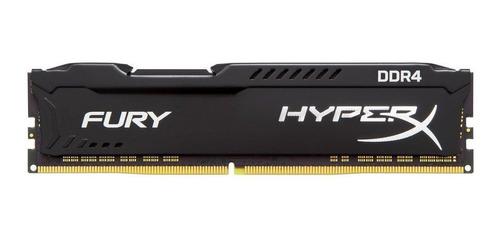 memoria ram ddr4 8gb hyperx fury 2400 mhz dimm