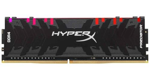 memoria ram ddr4 8gb hyperx predator led rgb hx429c15pb3a/8