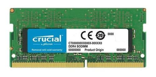 memoria ram ddr4 crucial 8 gb sodimm 2666 mhz