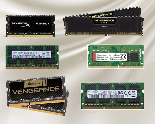 memoria ram ddr4 ddr3 ddr2 mac imac laptop pc 1g 2gb 4gb 8gb