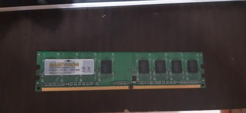 memoria ram de 2 gb ddr2 kingston nueva y memoria 1 gb mar