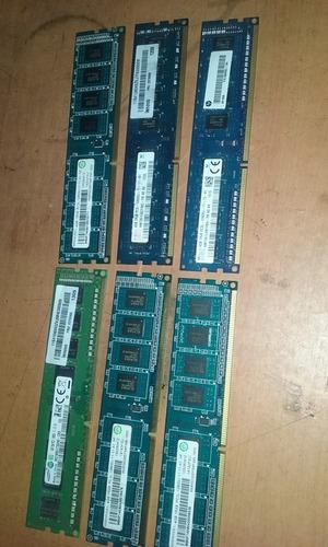 memoria ram de 4 gb ddr3 para pc