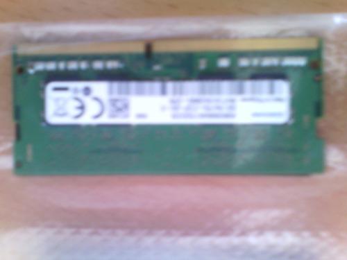 memoria ram de 8gb ddr4 samsung, para laptop